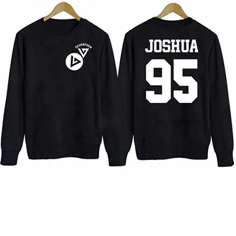 Allkpoper Поп семнадцать 17 карат Sweatershirt пуловер с капюшоном jeonghan Wonwoo DK
