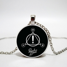 Mysteries of Music Band Panic At The Disco Series Art Picture Glass Cabochon Fashion Charm Handmade Pendants Necklaces