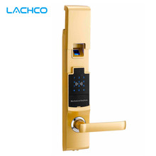 Фотография Fingerprint Smart Door Lock Digital Touch Screen  Password Keypad Access Control RF Card Intelligent Security L&S SL16-070SG