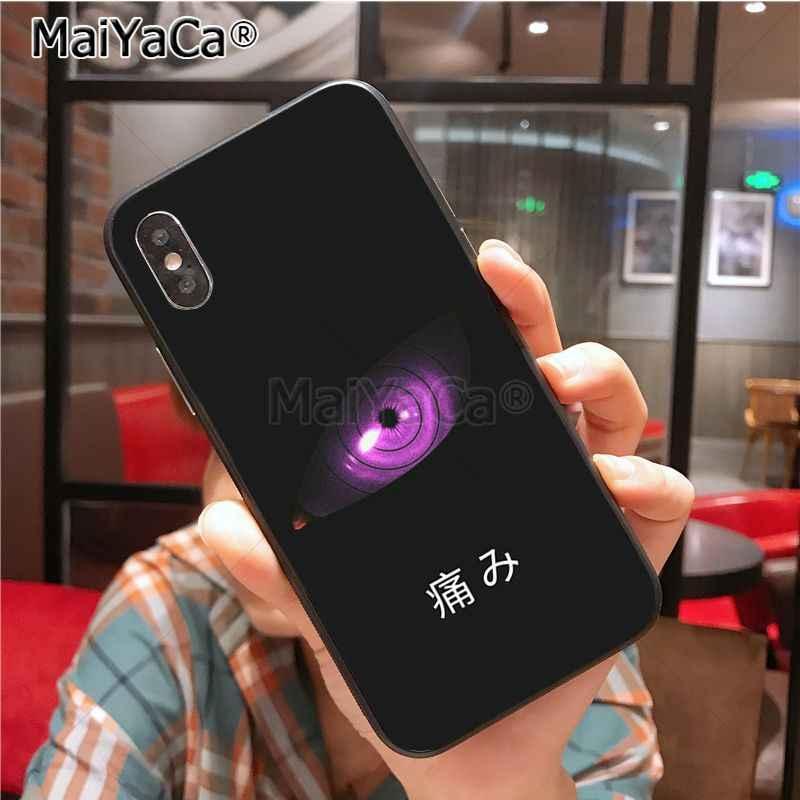 MaiYaCa Naruto Đau Nóng Bán Ốp Lưng điện thoại iPhone11 Pro Max X XS XR XS MAX 8plus 7 6splus SE 5c 7 Plus Ốp lưng