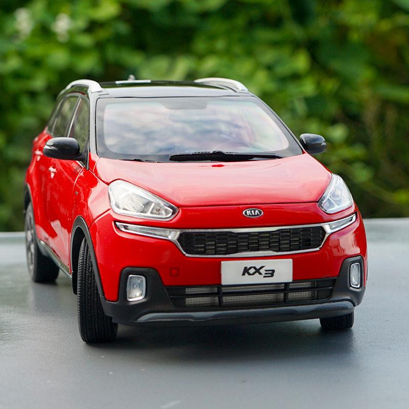 1:18 Dongfeng Yueda KIA KX3 Small SUV Alloy Simulation Car Model,die-cast Metal Educational Toys,quality Gifts,free Shipping
