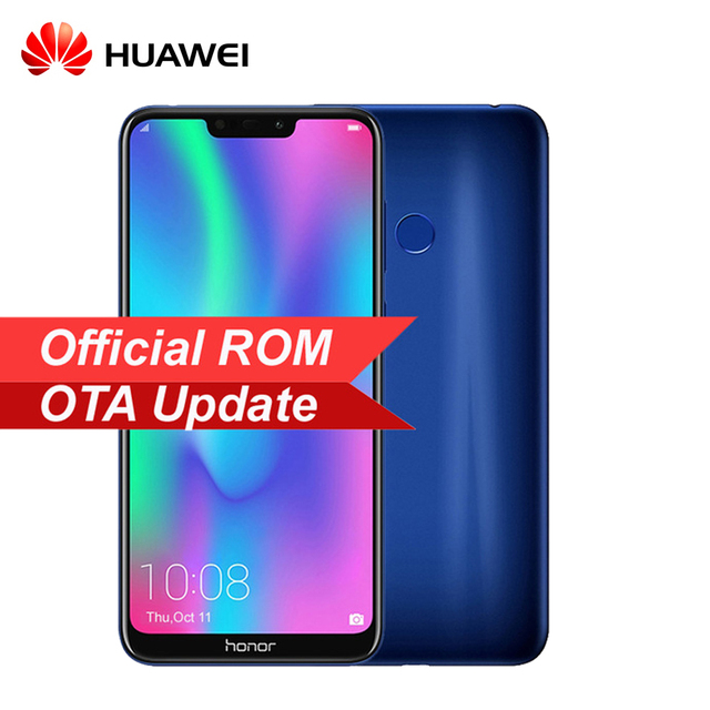 Original Huawei Honor 8C 4000mAh Smartphone6.26 inch Snapdragon 632 Octa Core Dual SIM MobilePhone Android 8.2 OTA Update