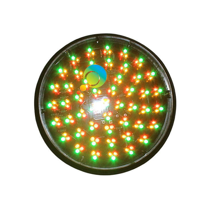 New design 200mm red yellow green LED flasher traffic lamp DC 12V