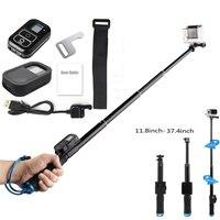 GoPro Remote Control Accessories Silicone Case GoPro Remote Telescopic Pole Extendable Monopod For GoPro Hero 5