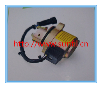 High quality  0427 2956 Fuel Shutdown Solenoid Valve for Dz Engine,3PCS/LOT free shipping by dhl,ups,fedex,tnt high quality kd7 47100 0180 fuel stop solenoid valve