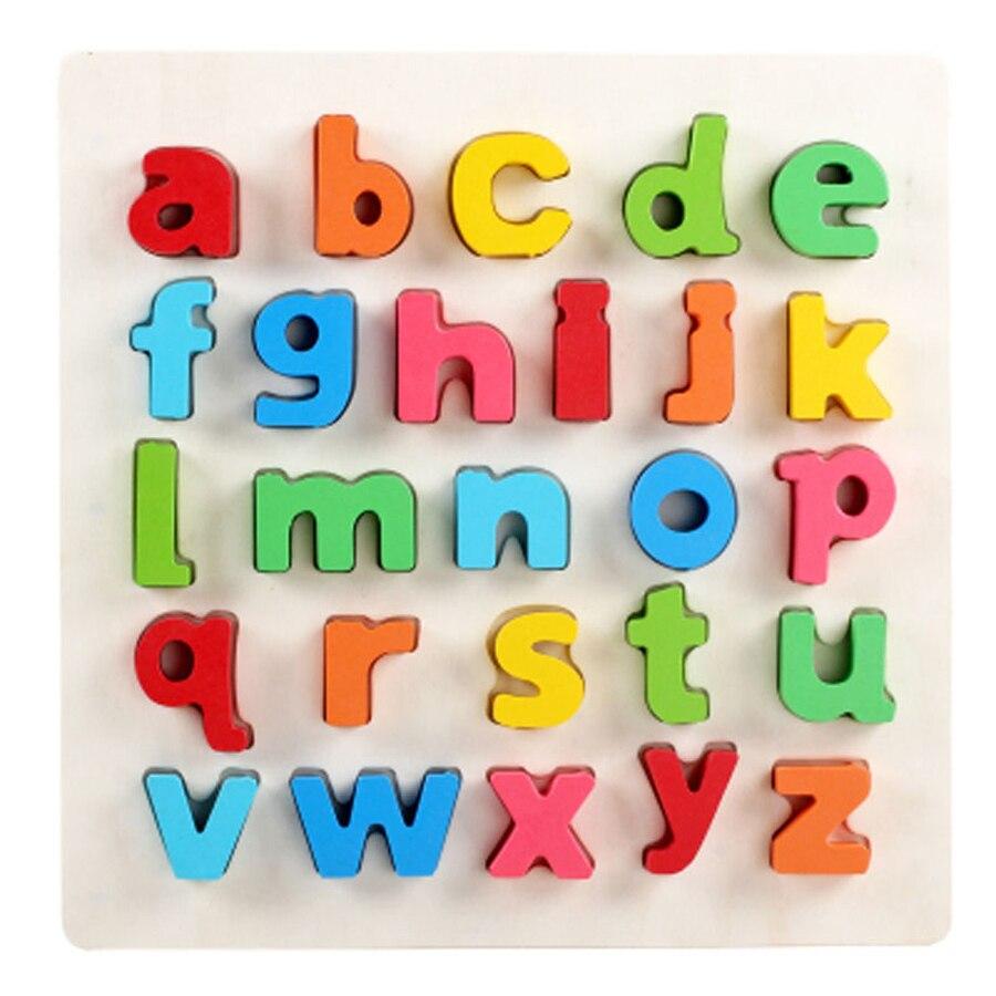 Деревянные головоломки доска Cube цифровое поле Монтессори дети Игрушечные лошадки образования 3D головоломки деревянные игрушки Буа подарк...