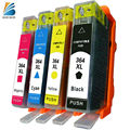Bosumon Ink Cartridge for HP 364 xl compatible with Officejet 5520 5524 6510 6520 7510 B109 B110 B209 B210 C309 C310 Printer