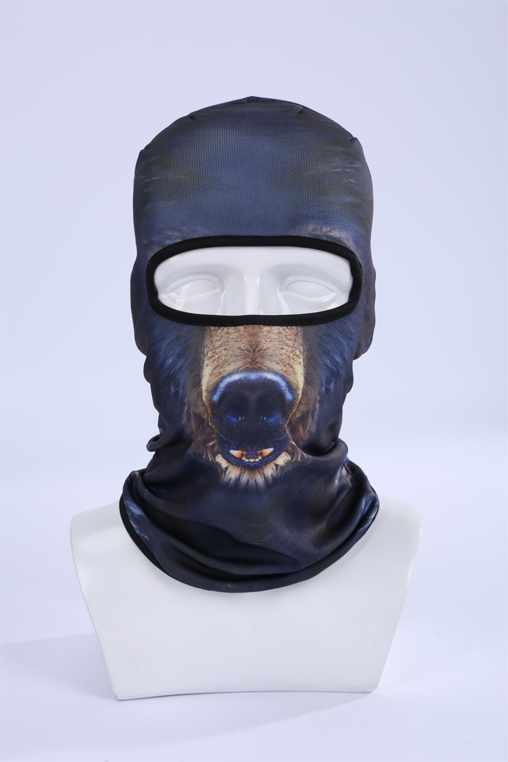 Hot Sale 2017 Cool New 3d Wild Boar Animal Hood Hat Balaclava Full Face Mask Outdoor Sports Bicycle Cycling Ski Masks Bbb08 women beanie new hot sale 3d zebra animal hood hat balaclava full face mask outdoor sports bicycle cycling ski motorcycle masks