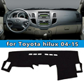 dashmats car-styling accessories dashboard cover for  toyota hilux sw4 vigo pick up 2004 2005 2006 2007 2008 2009 12 2013 2015
