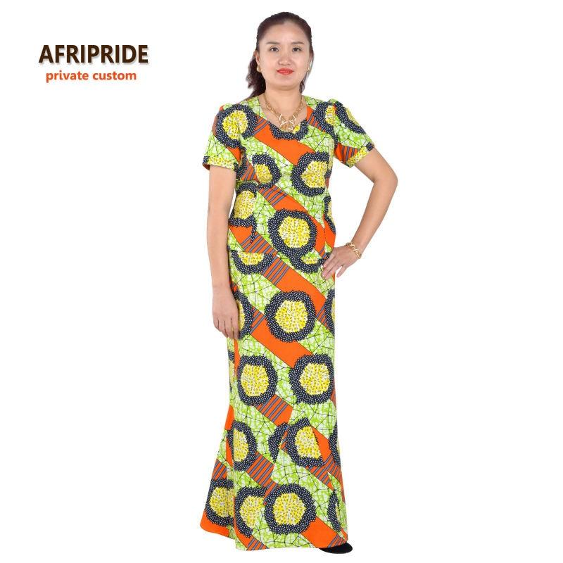 Gaun elegan Afrika ditetapkan untuk wanita femmes gaya afrika pakaian - Pakaian kebangsaan - Foto 5