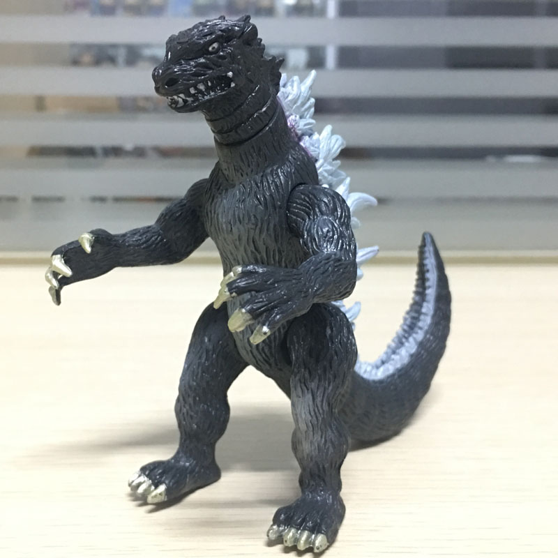 New Moveable Godzilla PVC Action figure Toys Furnishing Articles PVC Figure Toys 12cm heigh Gifts For Children Free Shipping 12pcs lot new sofia the first pvc figure toys princess sofia pvc doll brithday gift for children free shipping