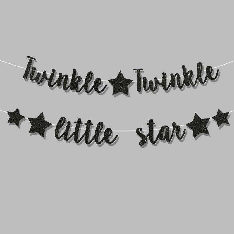 Detail Feedback Questions about Twinkle Twinkle little star banner