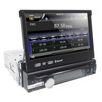 car dvd Player 7Inch 1 din Motorized Detachable 1080P Video HD Multi Touch Screen automotivo bluetooth sd BT SD USB