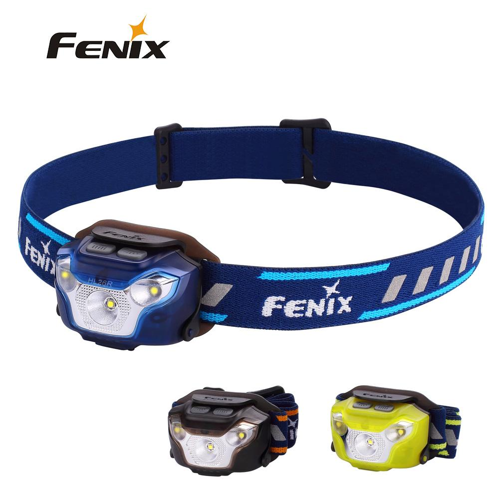 Fenix HL26R Cree XP-G2 R5 LED 450 Lumens Ultra Lightweight USB Rechargeable Headlamp