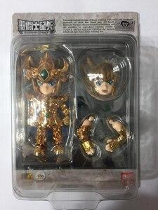 "Image 5 - 100% Original BANDAI Tamashii Nations Saint Seiya Daizenshuu Collection Toy Figure   Leo Aiolia from ""Saint Seiya"""