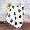 Cobertores do bebê Bebê Aquecido Bonito do Teste Padrão do Gato Macio Velo Coral Cobertores Recém-nascidos Gifs Macio Meninos Meninas Cobertores 100*70