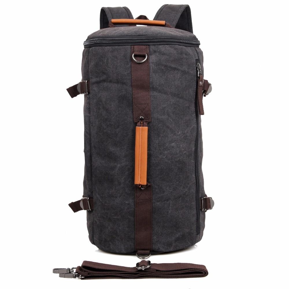 ФОТО High Quality Canvas Travel Bag Huge Tote bag Handbag For Men's Shoulder Bag  9036