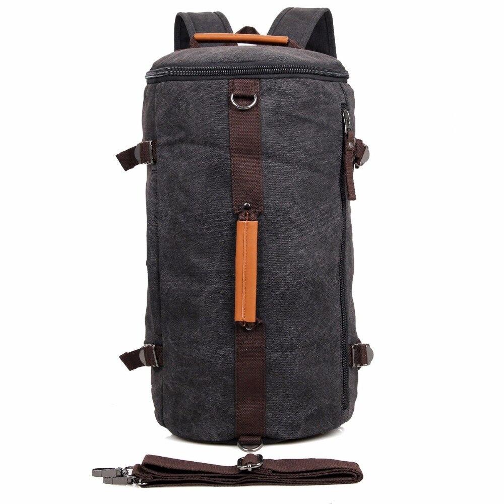 J.M.D High Quality Canvas Travel Bag Huge Tote bag Handbag For Men