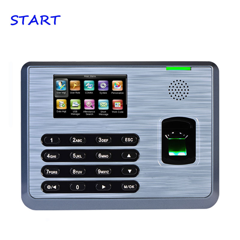 TX628 TCP/IP Fingerprint Time Attendance Recorder Time Clock ZK Linux System Fingerprint Time Recording