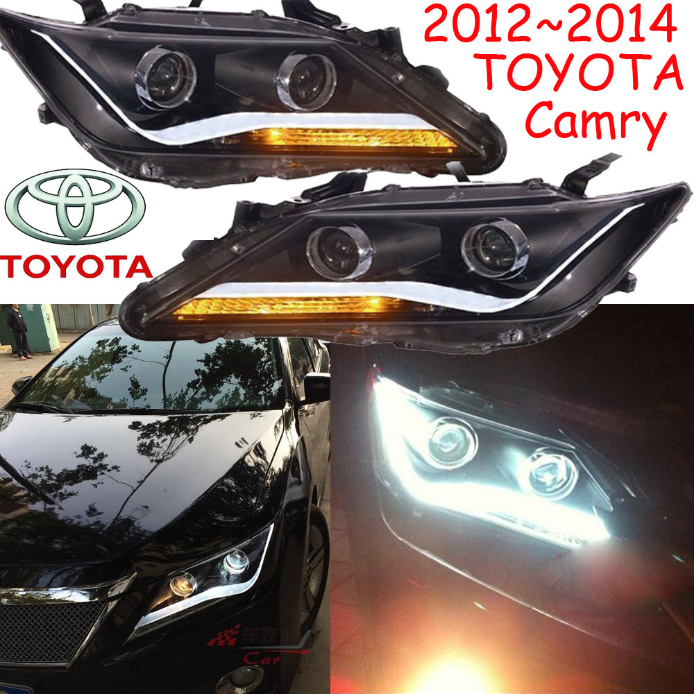 Camry headlight,2012~2014,Free ship! Camry fog light,2ps/set+2pcs Ballast,Camry driver light,Camry camry mirror lamp 2006 2007 2008 2009 2011 camry fog light free ship led camry turn light camry review mirror camry side light