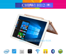 New Arrival Chuwi HI12 Dual OS Windows 10+Android 5.1 Tablet PC 12 Inch 2160*1440 Intel Z8300 Quad Core 4GB RAM 64GB ROM