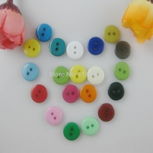 200 шт./партия, красивые разноцветные пуговицы из смолы, 20 цветов, 10 мм, детская одежда, пуговицы для одежды, аксессуары для одежды, скрапбук