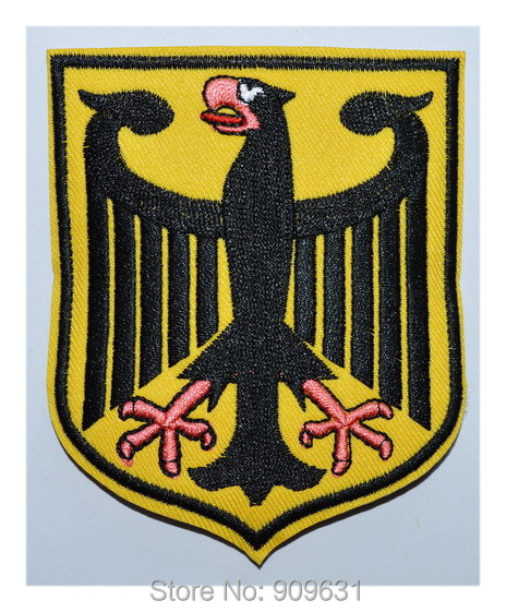 GERMAN EAGLE embroidered PATCH GERMANY iron on Deutschland Army-in ...