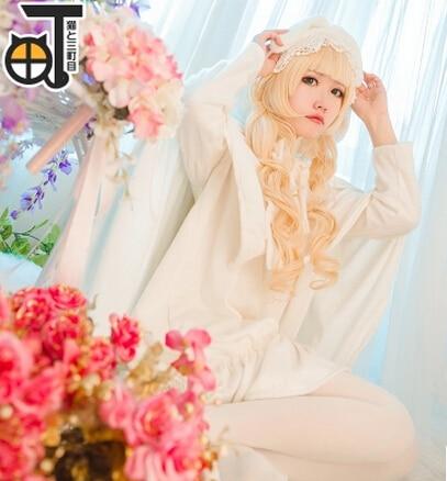 Free shipping Gosick Cosplay Victorique De Blois Costume Lolita  dress cosplay costume