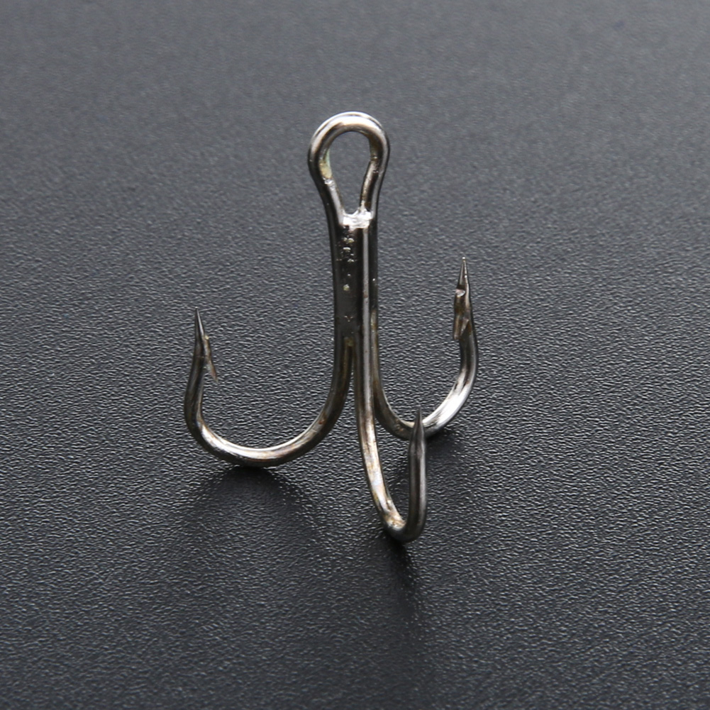 Wholesale 50pcs high carbon steel fishhooks barbed hook for Wholesale fishing hooks