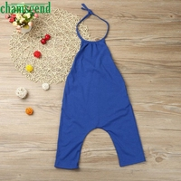 2018  cute Toddler Kid Baby Girls Straps Rompers B ...