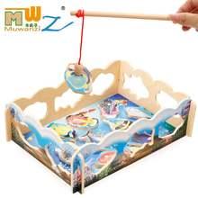 Магнитные наборы для рыбалки обучающие игрушки детей рандомная