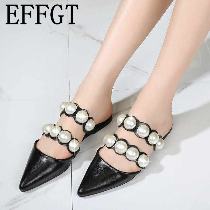 EFFGT 2019 Spring Fashion pointed toe