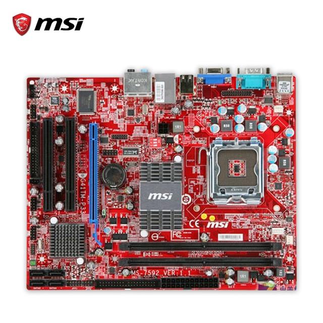 MSI G41TM-P33 TREIBER WINDOWS 8