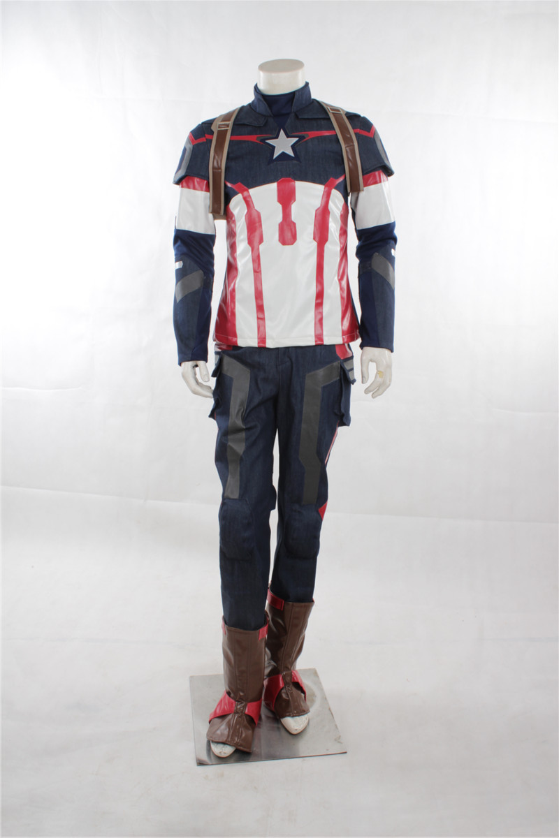 The Avenger Age of Ultron Captain America Costume Winter Soldier - Carnavalskostuums - Foto 2
