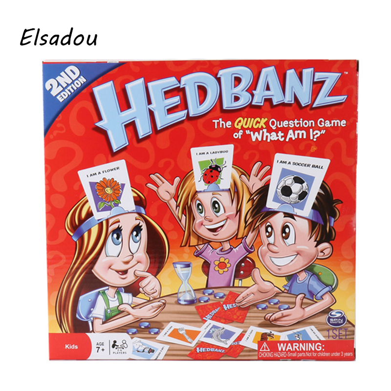 Elsadou HedBanz Game Edition May Vary The Quick Question of What am I Cards