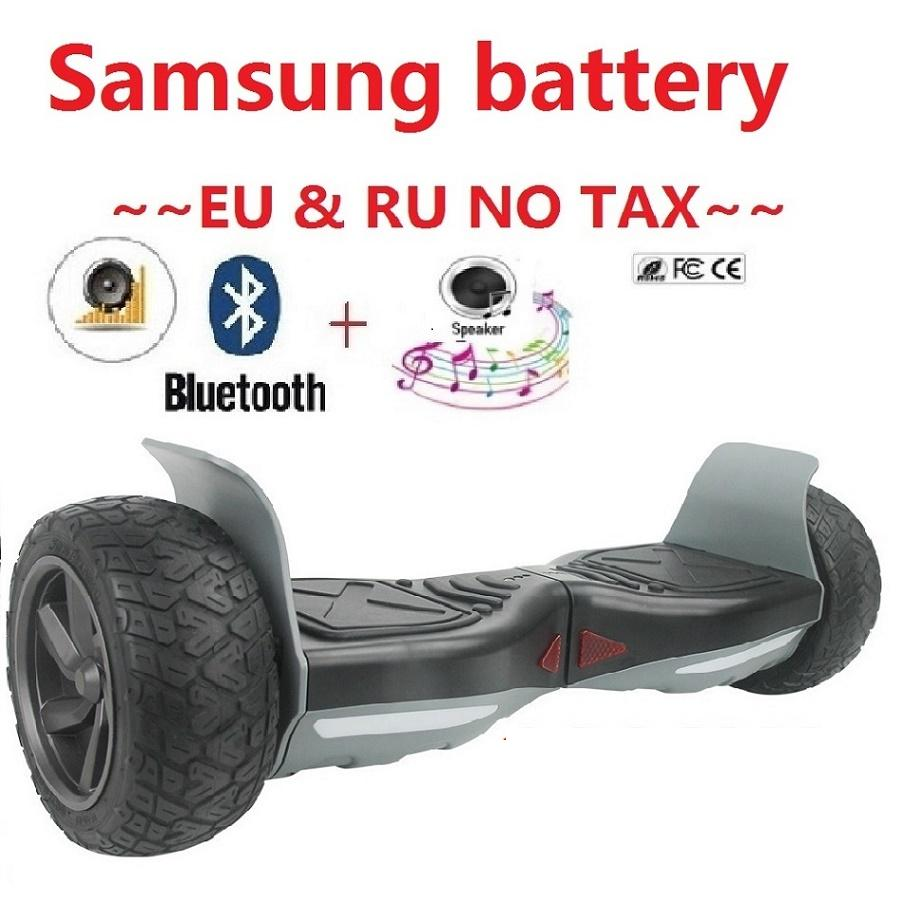 все цены на Hoverboard Hummer Samsung battery Electric self balancing scooter 2 wheel skateboard giroskuter Smart balance wheel scooter онлайн
