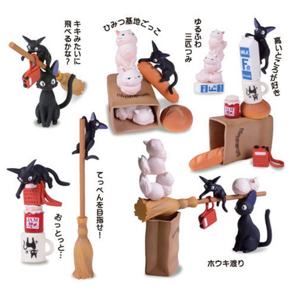 Hayao Miyazaki Animation Model Toys My Neighbor Totoro Action Figures Toys Animal Model Toys Figure Collectible Toy For Children animation garage kid hayao miyazaki animation model toys artbox action figure pvc dolls kiki s delivery service model kt038