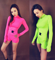 Night Bar Ds Costumes New Fluorescent Sexy DJ Nightclub Singer GOGO Party Dance Clothes