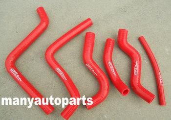 Dla Honda CR125 CR 125 CR125R 2000 2001 2002 00 01 02 silikonowy wąż chłodnicy czerwony tanie i dobre opinie GPIRACING silicone 0 35