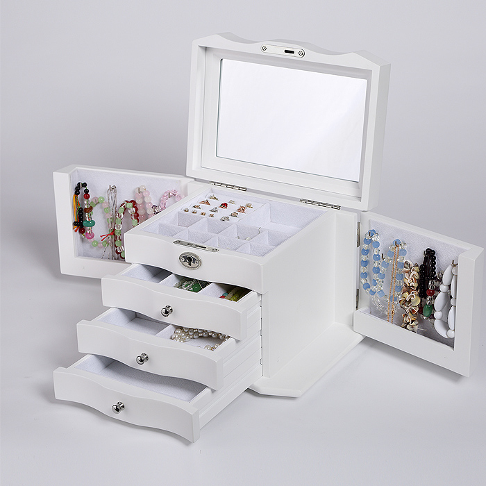 2016 original new high grade jewelry box wooden European style jewelry box jewelry box jewelry birthday gift