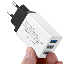 3 Port USB Charger Fast Charging Wall Charger For Huawei Xia