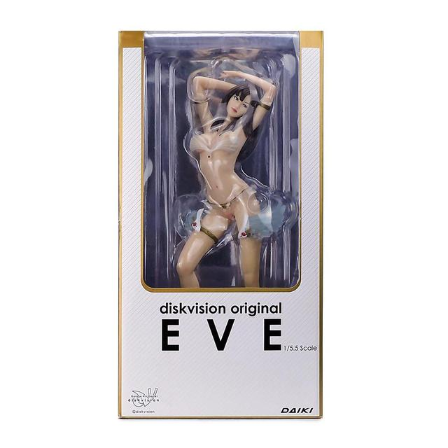 DAIKI EVE Sexy 33cm PVC Beautiful Girl Swimsuit Scale Japanese Sexy Anime Pvc Action Figure Toys Model Collection 5
