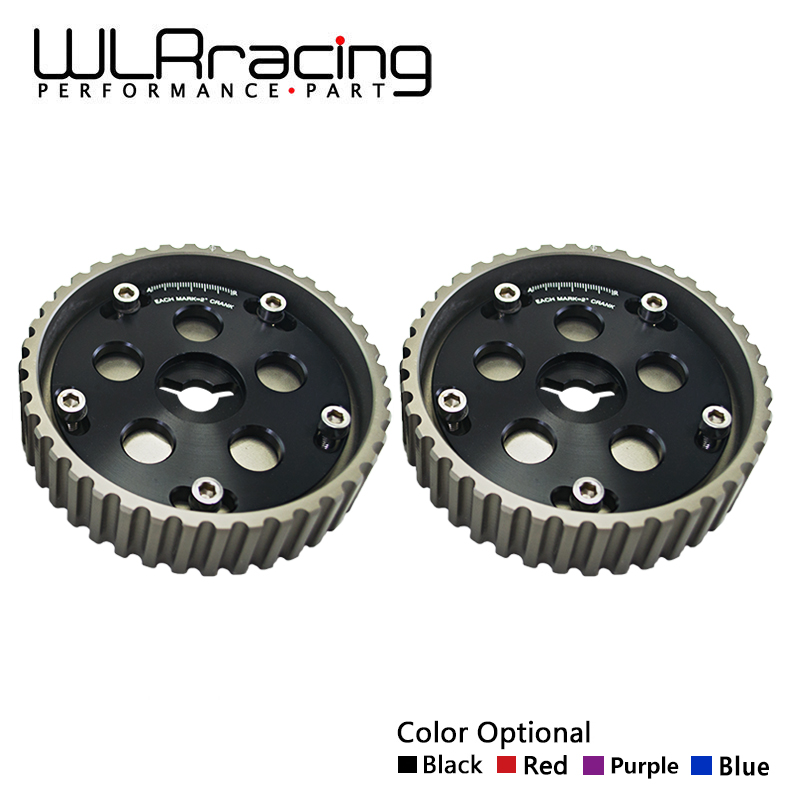 WLRING STORE One Pair 2pcs Adjustable CAM GEARS KIT FOR Suzuki Swift GTI G13B cam pulley