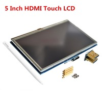 5 inch TFT LCD HDMI Touch Screen Display 800*480 for Banana Pi / Raspberry Pi 3
