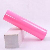 0,5x25 м неоновый розовый флуоресцентный Неон теплообмена VinylHeat пресс для Текстильная одежда оптом