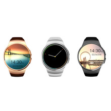 KW18 Bluetooth Smart Watch Heart Rate Monitor Support SIM TF Card Smartwatch for iPhone Samsung Huawei Gear S2 Android Smartwatch