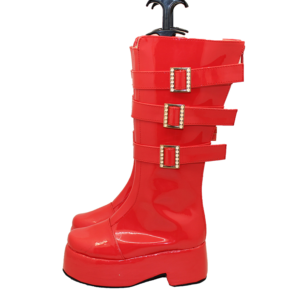 brdwn ONE PIECE Cosplay Princess mononoke Perona Punk boots custom shoes in Shoes from Novelty Special Use