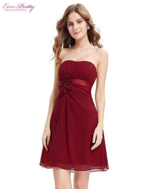Коктейльные платья платье розовый белый фиолетовый цветы без бретелек шифон короткие гольфы халат де HE03538 быстрая бесплатная доставка