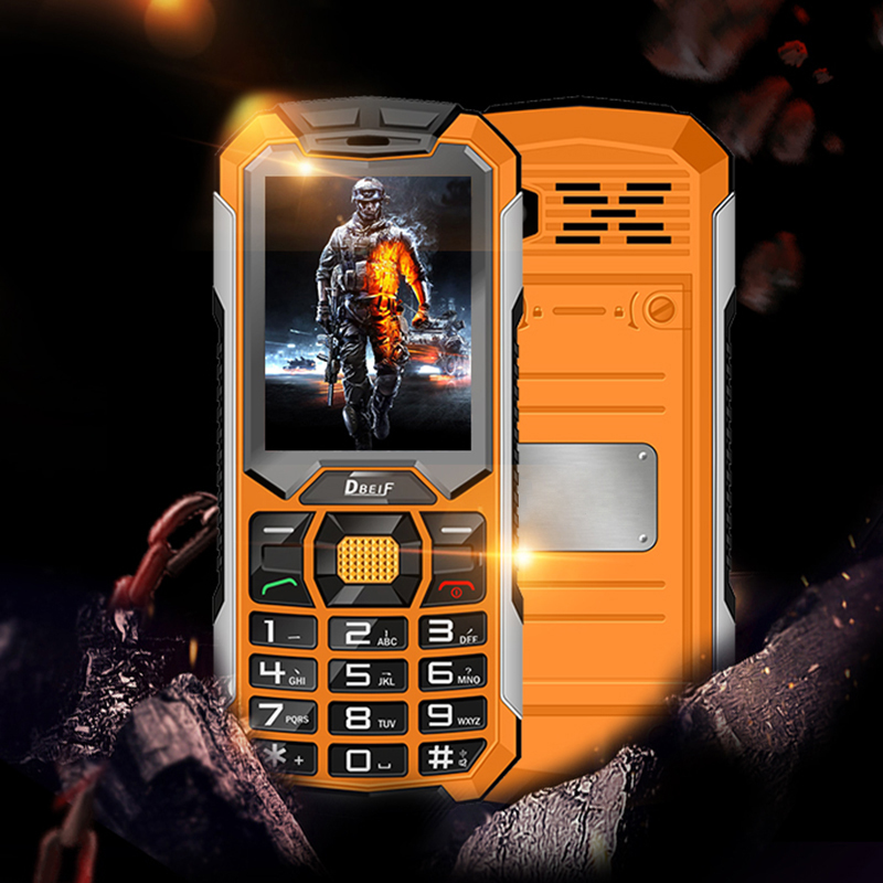 DBEIF C5000 Long standby dual sim card flashlight power bank FM radio loud speaker bluetooth dustproof