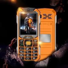 DBEIF C5000 Long standby dual sim card flashlight power bank FM radio loud speaker bluetooth dustproof shock mobile phone P251